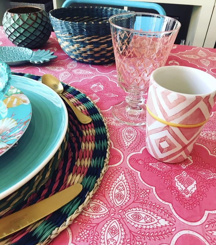 Una mesa de verano - Zara Home