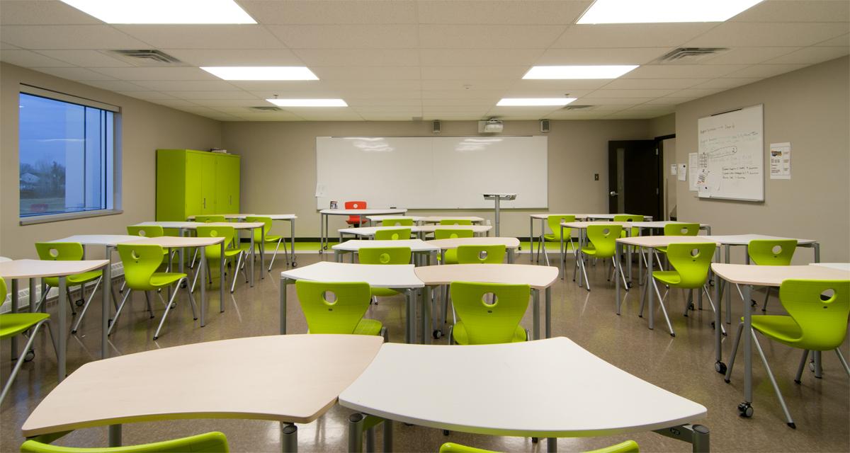 Collge Citoyen Salle De Classe AQUEST Design