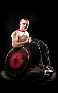 Triple Paralympian Andy Barrow talks leadership and motivation. Sport performance.