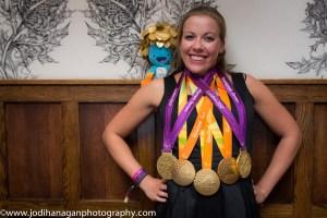 Hannah Cockroft Gold medals