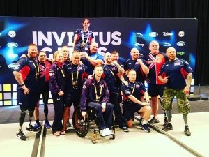 Ben Richens Invictus GB Team