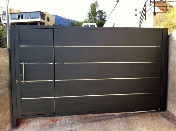 puerta garaje batiente