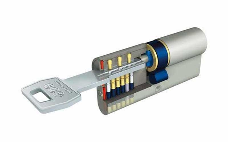 Instalar una cerradura anti bumping