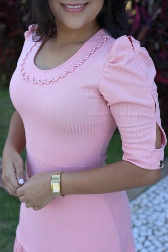 Vestido Longo Maria Amore em Áquila Tauheny Store   Moda Evangélica
