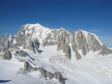 Mont Blanc, Mont Maudit, Mont Blanc du Tacul