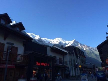 Mt Bianco da Chamonix
