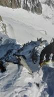 cresta Galenstock dall'alto