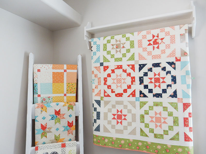 how to hang small quilts tips