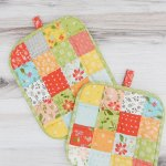 How To Make A Quilted Potholder A Step By Step Tutorial A Quilting Life