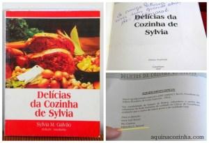 Delícias da Cozinha de Sylvia - Livro Culinário de Garanhuns