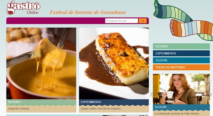 Gastrô Online - Festival de Inverno de Garanhuns - Festival de Inverno de Garanhuns 2