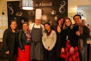 Jantar alemão do chef Heiko Grabolle
