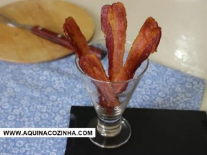 Bacon Crocante e Sequinho