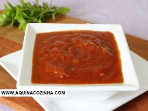 Molho de Tomate com Tomate Pelati
