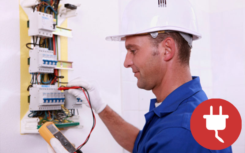 Contratar a un electricista autorizado