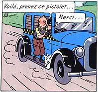taxi tintin