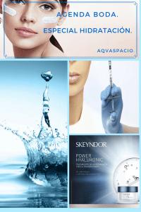 Tratamientos hidratantes para preparar la piel para el maquillaje.