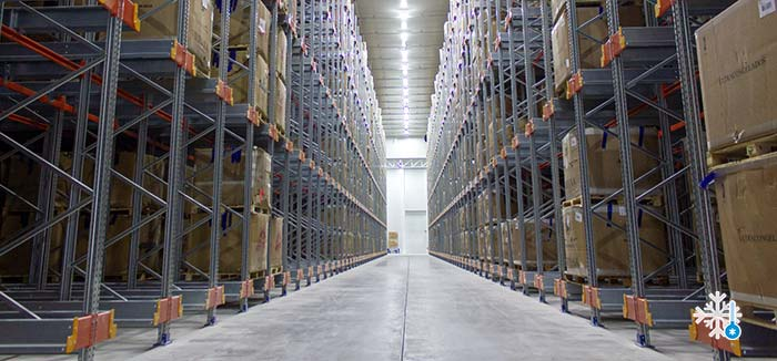 pallet racking systems for cold stores and freezing chambers ar racking