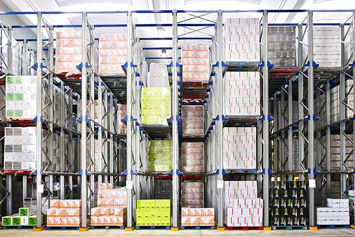 compact pallet rack storage systems