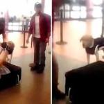 فيديو مسافر خبأ نفسه داخل حقيبة سفر