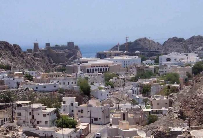مسقط القديمة عاصمة سلطنة عمان