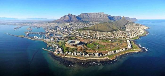مدينة كيب تاون في جنوب افريقيا