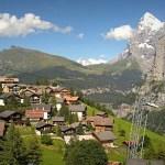 السياحة في قرية مورين السويسرية