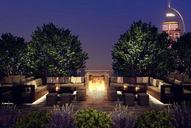 صور افتتاح استراحة منزل الشجرة في دبي