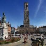 المعالم السياحية في مدينة بروج البلجيكية 2016