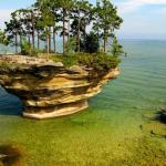 صور جزيرة اللفت من اغرب الجزر في العالم