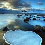 البحيرة الزرقاء فى ايسلندا اشهر بحيرات العالم