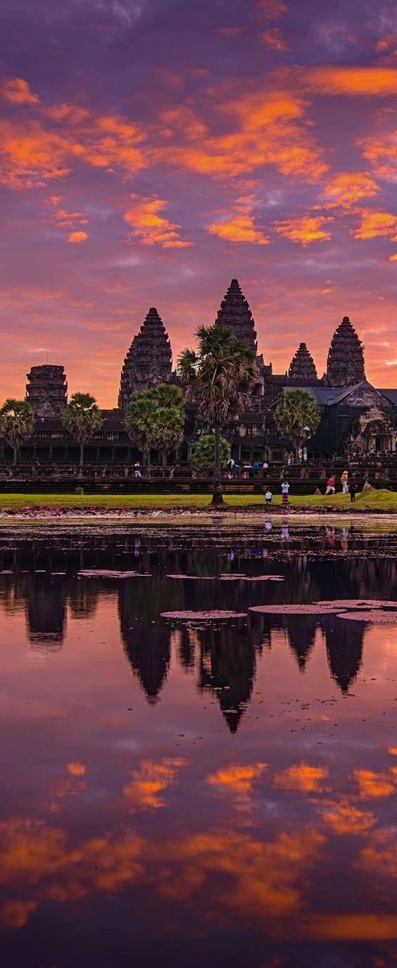 انكور وات كمبوديا