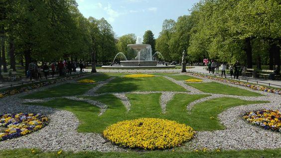 حدائق Saxon