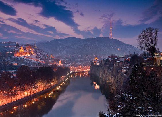 تبليسي عاصمة جورجيا