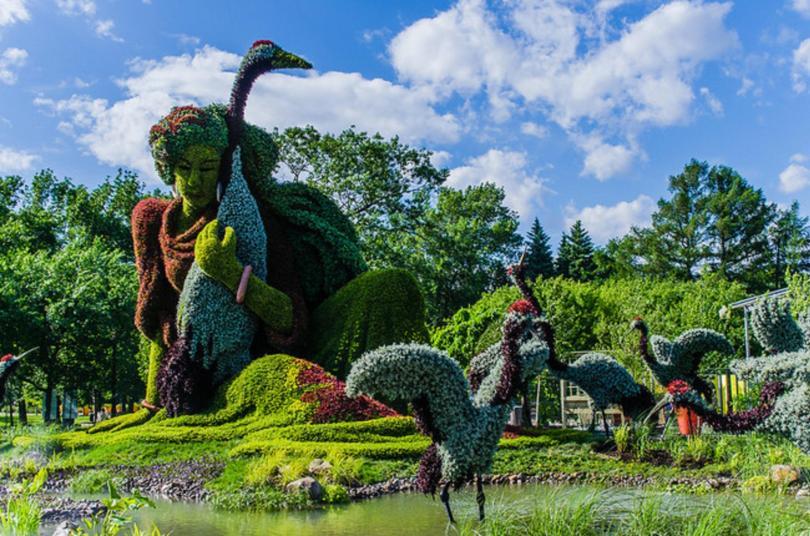 حديقة النباتات بمونتريال