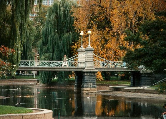 الحديقة العامة ببوسطن