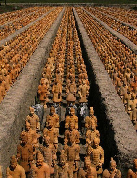 الجيش الطين في شيان