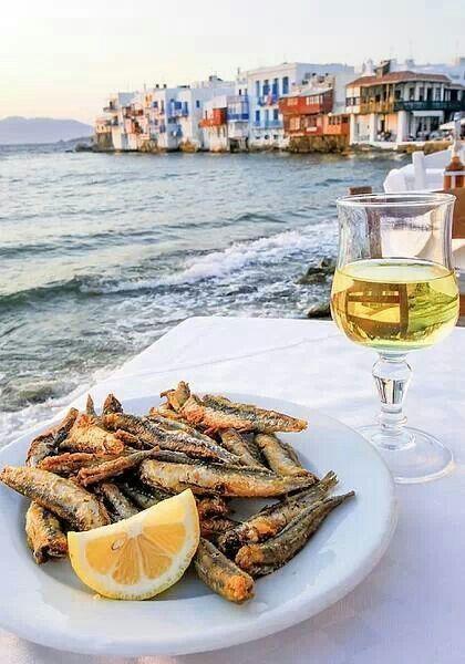 الاطعمة اليونانية