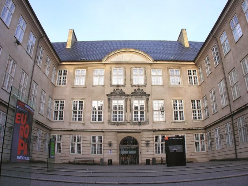 المتحف الوطنى فى كوبنهاجن