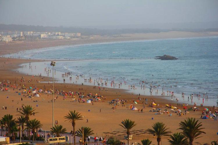 شاطئ اغادير المغرب