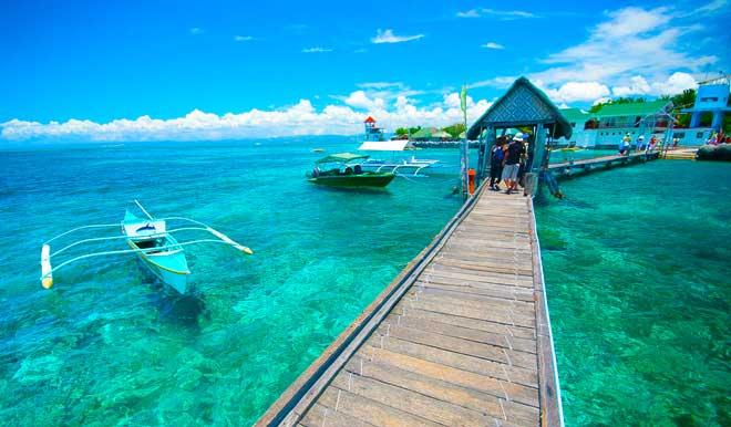 شواطيء جزيرة ماكتان