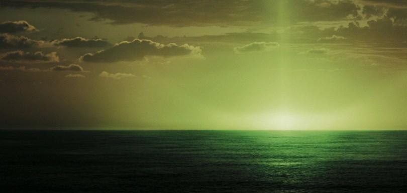 ظاهرة الأشعة الخضراء