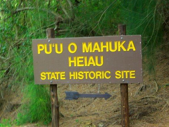 متنزه و معبد Pu'u o Mahuka Heiau