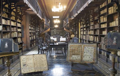 مكتبة دير سانت كاترين
