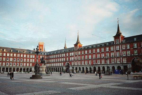 الساحة الكبرى في مدريد
