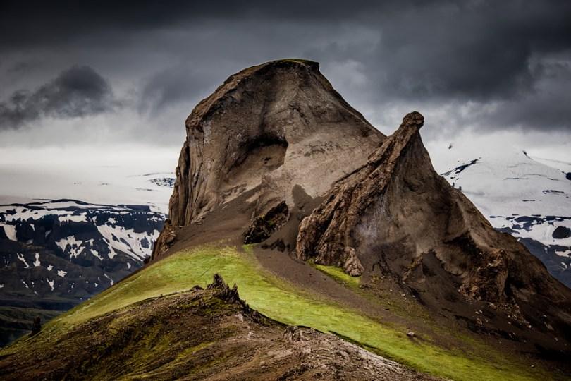 المرتفعات في ايسلندا