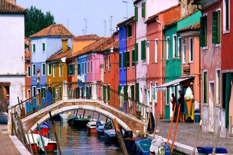 جزيرة مورانو فى ايطاليا