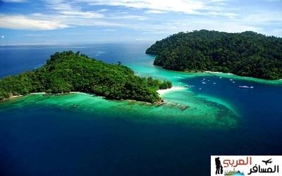 جزيرة بورنيو الماليزية