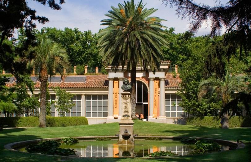 حديقة رويال بوتانيكو دي مادريد