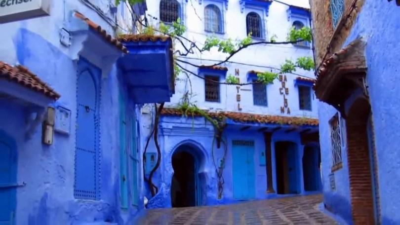 مدينة شفشاون فى المغرب